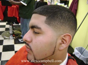 HOW TO CUT A LOW BLENDED BALD FADE