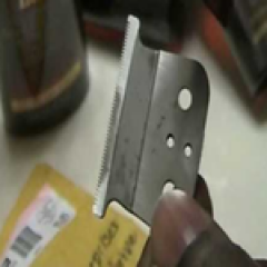 sharpen trimmer blades