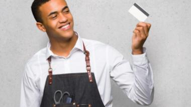 barber credit card