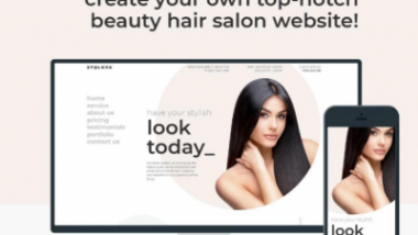 beauty and barber websites